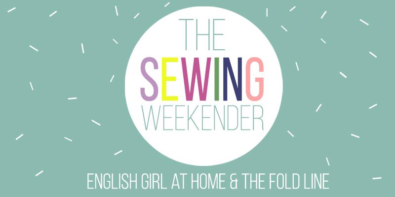 sewing weekender banner