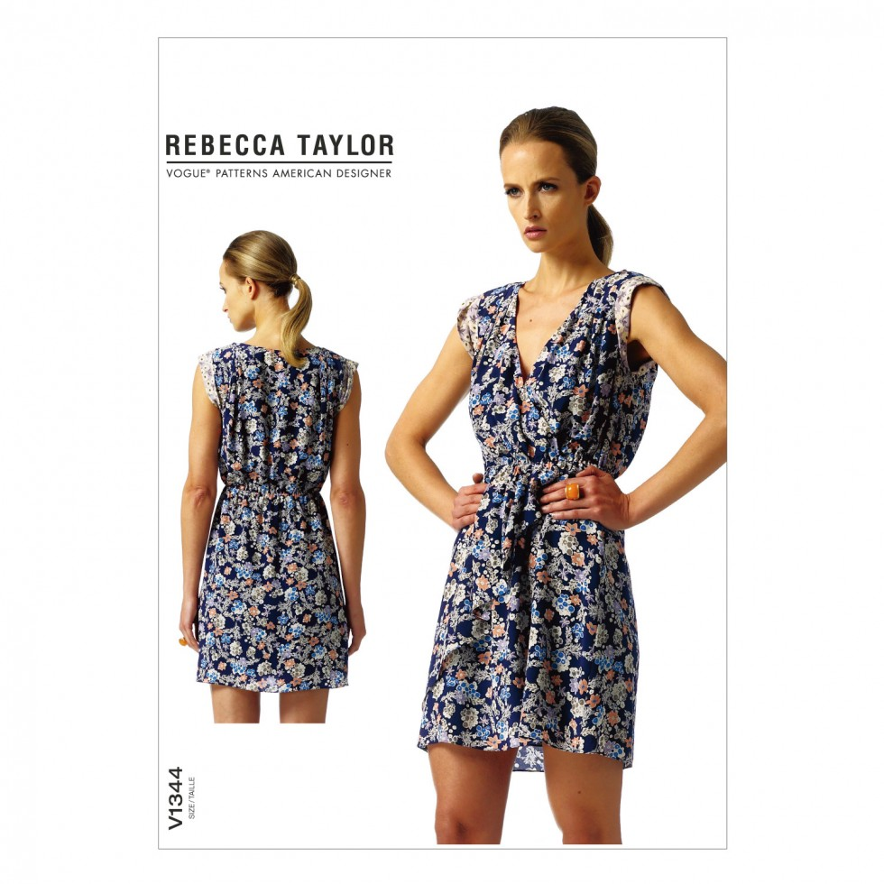 vogue-1344-a5-vogue-ladies-easy-sewing-pattern-1344-mock-wrap-dress