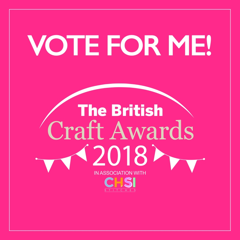 craft awards 2018 vote for me