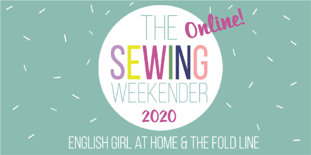 The Sewing Weekender 2020 logo