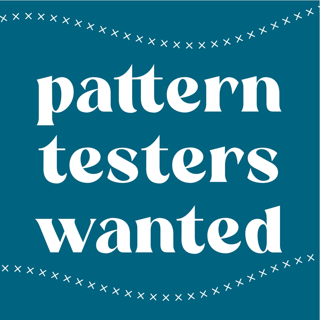Test image saying 'pattern testers wanted'